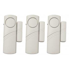 Allarme per porte/finestre ELECTRALINE kit 3 sensori a batteria