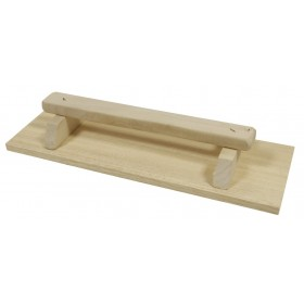Frattone in legno BRAMIN lunghezza mm 140x420 per muratore