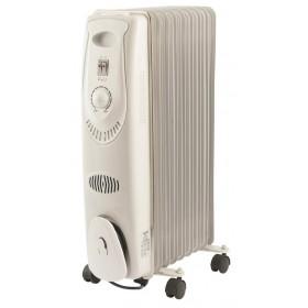 Radiatore termosifone ad olio 9 elementi riscaldanti potenza 2000W