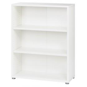 Libreira bianca 2 ripiani TVILUM cm 80x40x113h Linea PRIMA