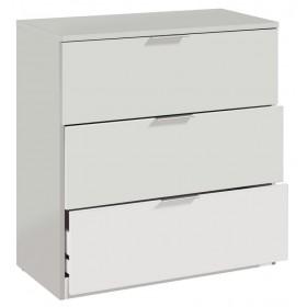 Cassettiera bianca 3 cassetti cm 80x38x77h Linea URBAN