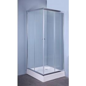 Parete fissa in cristallo cm 70 spessore 4 mm per box doccia Mod IGLO4