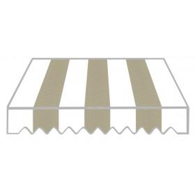 Tenda da sole a caduta cm 200x250 struttura alluminio Disegno P2004