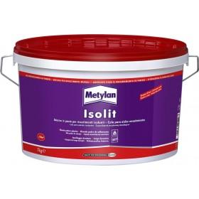 Adesivo acrilico METYLAN ISOLIT barattolo 7 kg per fissaggio