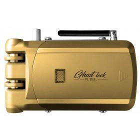 Serratura universale con radiocomando VI.TEL finitura oro Mod GHOST LOCK