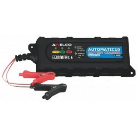 Caricabatterie AWELCO con autospegnimento per batterie 12 V Mod AW60030
