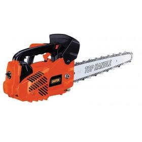 Motosega Castor con freno catena antivibrante motore 2 tempi barra Carving cm. 25 accensione elettrica lubrificazione automatica Mod. CP 300 C - legno giardino prato