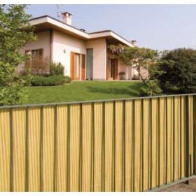 Arelle doppie Bamboo in PVC colore beige cm. 300x100h per giardino balcone cancello recinzione