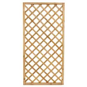 Pannello grigliato combinabile in legno di pino cm. 120x180 - arredo casa giardino balcone