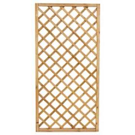 Pannello grigliato combinabile in legno di pino cm. 40x180 - arredo casa giardino balcone