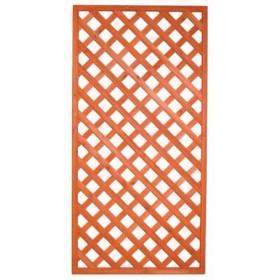 Pannello grigliato in legno trattato cm. 90x150 modulare - arredo casa giardino balcone