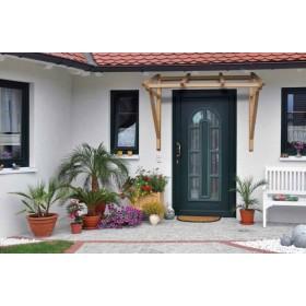 Struttura per pensilina in legno massello cm. 165x66x100h - arredo casa giardino