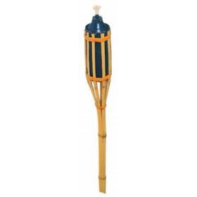 Torcia in bamboo altezza cm. 90 con serbatoio - casa giardino