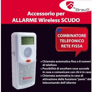 Combinatore telefonico antifurto domestico allarme chiamata automatica