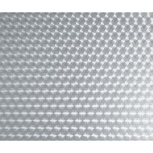 Pellicola adesiva decorativa ALKOR fantasia trasparente per vetro rotolo 15 m