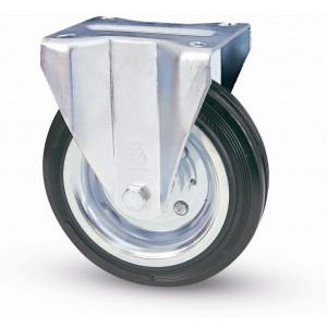 Ruota industriale AVO ø mm 100 piastra fissa portata 75 kg Art 80/A