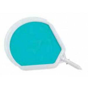 Retino di superficie per piscine struttura in plastica rete in nylon skimmer con magnete - giardino piscina