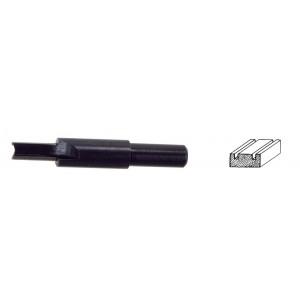 Fresa sagomata per legno PG-TOOLS ø 6 mm a dito per mortasare Art 372.00