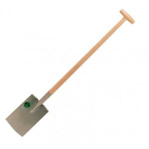 Vanga da giardino cura orto manico legno lunghezza 112 cm