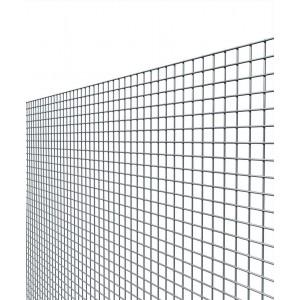 Rete elettrosaldata zincata maglia mm 12x12 altezza cm 80 filo mm 1.45
