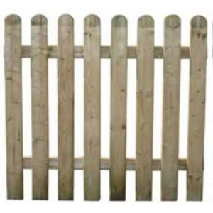 Cancello per Steccato Mod. Ela Alto in legno di pino impregnato cm. 100x100 - arredo casa giardino