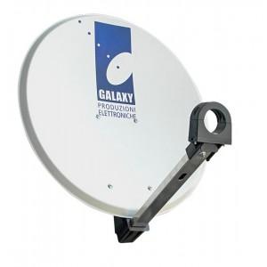 Antenna parabolica GALAXY diametro 45 cm in acciaio elettrozincato