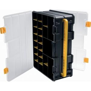 Contenitore portaminuteria in plastica con 36 separatori rimovibili