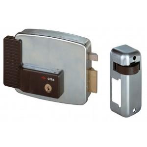 Serratura elettrica cancelli CISA mano sinistra entrata 50 mm Art 11721