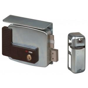 Serratura elettrica cancelli CISA 2 mandate mano destra 80 mm Art 11761