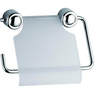 Portarotolo bagno in metallo cromato Art. XL-806 - Mod. DIANA