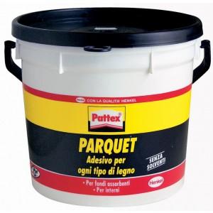 Colla per parquet PATTEX barattolo 5 kg adatto ad ogni tipo di legno