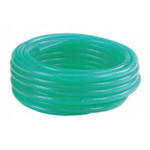 Tubo retinato PVC antigelo verde rotolo 30 m ø mm 12x17 giardinaggio