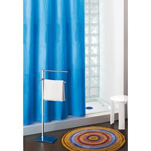 Tenda doccia Gedy in poliestere blu cm. 180X200 - Art. 113