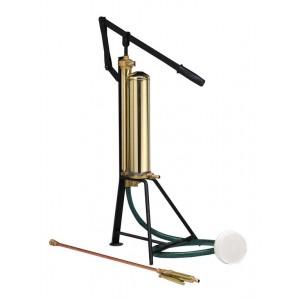 Pompa a leva pittura giardinaggio corpo ottone lancia e tubo in gomma