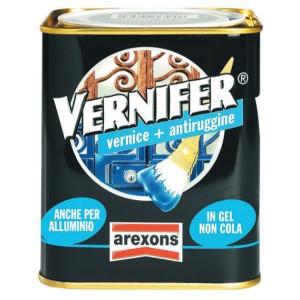VERNIFER vernice con antiruggine AREXONS grigio ferro satinato 750 ml