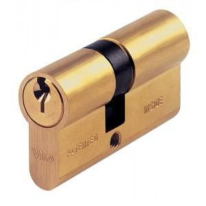 Cilindro sagomato VIRO lunghezza 54 mm con 3 chiavi Art 0721
