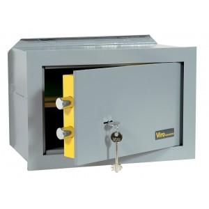 Cassaforte meccanica 10 mm VIRO cm 36x49x25h da incasso - Art 4555.25