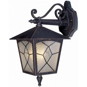 Lanterna Mod. Classic in alluminio verniciato con protezione in vetro per lampada da 60 W - casa giardino