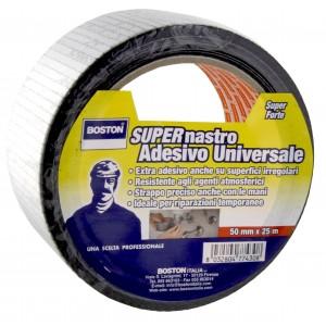 Nastro adesivo impermeabile extra forte BOSTON 50 mm x 25 m nero