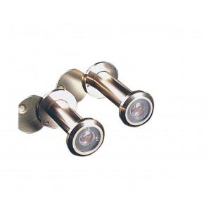 Spioncino 3 lenti visibilità 200° finitura oro lucido ø 12 lungh 60÷100