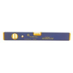 Livella 2 bolle profilo antiurto lunghezza 80 cm Mod GWP - 95A
