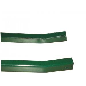 Saette recinzione cm 150 acciaio plasticato verde pz 10 per paletti