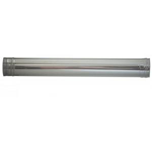 Tubo per stufa in acciaio inox cm. 100 diametro cm. 25 - impianto riscaldamento casa