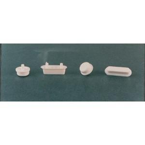 Paracolpi per sedili coprivaso rettangolari mm 43x15 - Conf. pz. 8