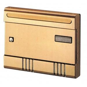 Cassetta postale alluminio bronzo ALUBOX componibile - Art SIR