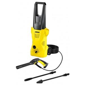 Idropulitrice ad acqua fredda Karcher funzione Total Stop potenza 1400 W completa di pistola tubo ugello lancia Mod. K 2 - pavimento garage casa giardino