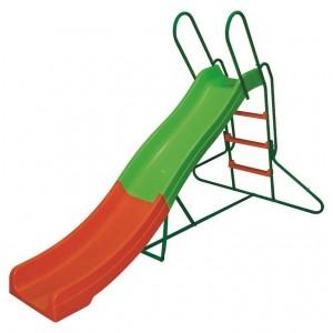 Scivolo gioco bambini struttura acciaio verniciato H cm 125 Mod MEDIO