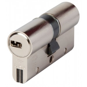 Cilindro sicurezza CISA cifratura 10 perni con 3 chiavi Mod ASTRAL/S mm 50.50