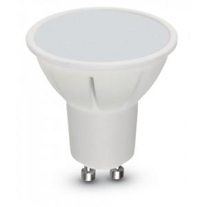 Lampadina LED risparmio energetico 5.5W GU10 BEGHELLI SPOT luce calda 2700K