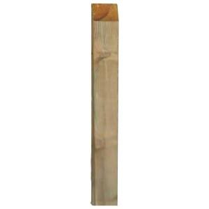 Palo rettangolare per pannelli grigliati legno di pino cm 4.5x9x300h